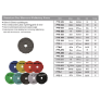 PPD4-1500 - DRY POLISHING PAD 4